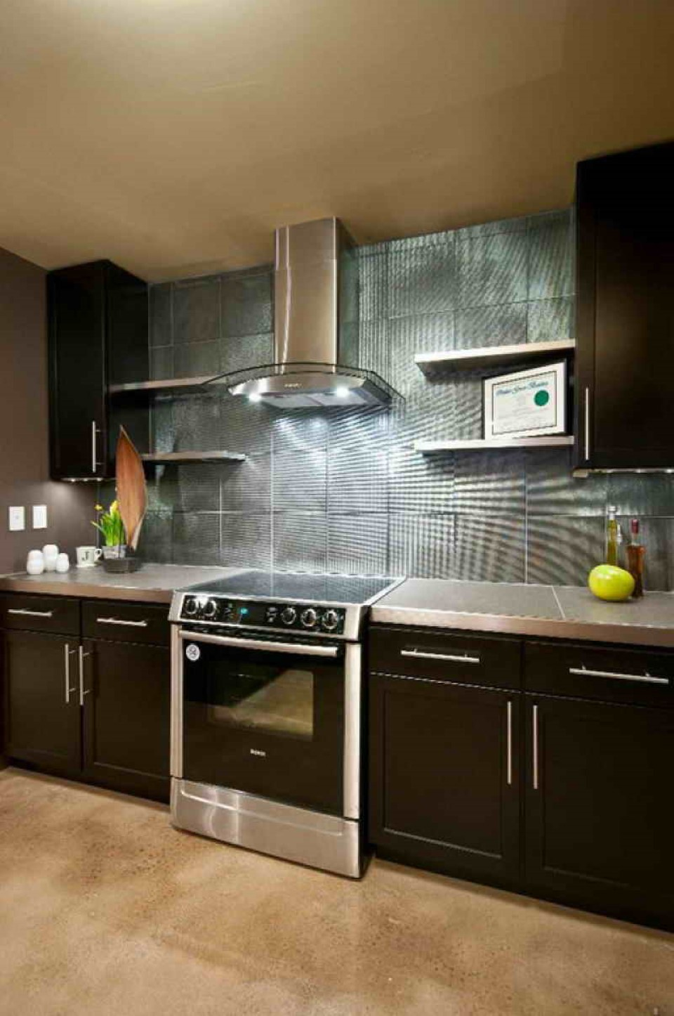 2015 kitchen ideas with fascinating wall treatment homyhouse Modern kitchen design ideas